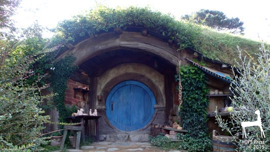 Hobbit House With Arched Entry Way.