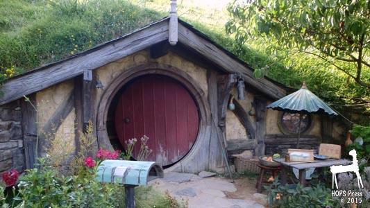 Hobbit House With Open Door.