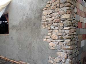 Building Our Slipform Stone House On Main Street An