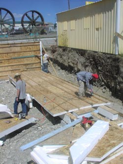 building our slipform stone house on main street an ongoing journal