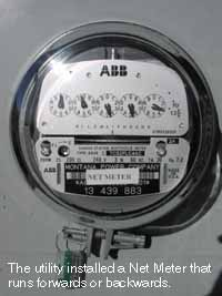 how to make a power metre go backwards