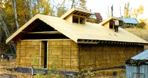 Strawbale house building books build an energy efficient for Least expensive house to build
